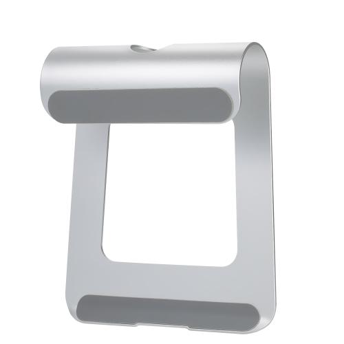 Design ergonomico Lega di alluminio Supporto per laptop Supporto da tavolo Dock Supporto per raffreddamento Raffreddamento per MacBook Pro / Air / iPad / iPhone / Notebook / Tablet / PC / Smartphone