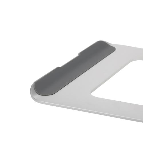 Ergonomic Design Aluminum Alloy Laptop Stand Desk Dock Holder Bracket Cooler Cooling Pad for MacBook Pro/Air/iPad/iPhone/Notebook/Tablet/PC/Smartphone