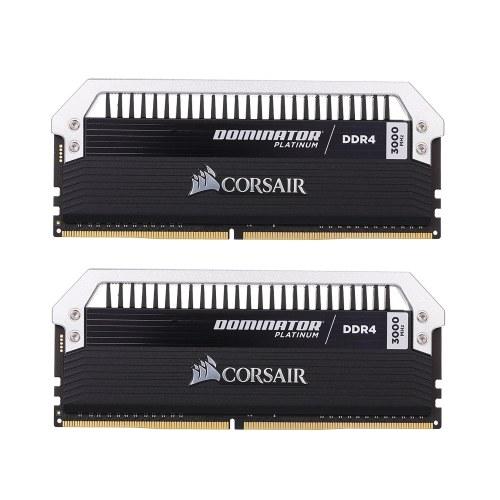 Corsair Dominator Platinum Series 16GB (2 x 8 ГБ) DDR4 DRAM 3000 МГц C15 288-контактный комплект памяти CMD16GX4M2B3000C15