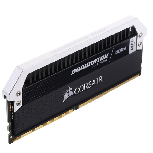 Corsair Dominator Platinum Series 16GB (2 x 8GB) DDR4 DRAM 3000MHz C15 288-Pin Memory Kit CMD16GX4M2B3000C15 C5358