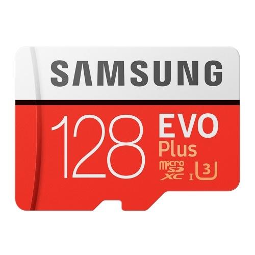 Scheda di memoria Samsung EVO PLUS U3 256 GB 128 GB 64 GB 32 GB Scheda di memoria SDHC di classe SD Micro SD