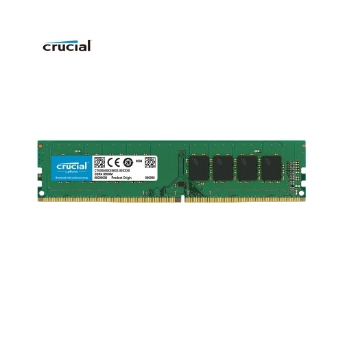 Crucial DDR4 2666 Memoria RAM 8G 2666 MT / s 288-Pin 1.2V per desktop CT8G4DFS8266