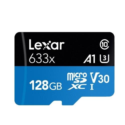 Lexar TF Card Reading Speed 95MB/s Writing Speed 20MB/s Micro SDHC Class10 UHS-I U1 V10 A1 Memory Cards 128GB