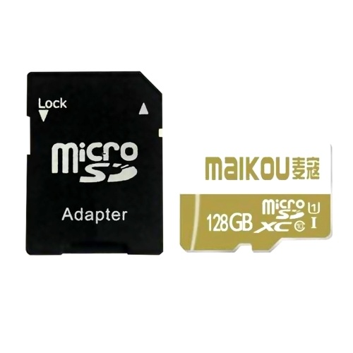 MaiKou High Speed TF Card Micro SD Cards Phone Memory Card 128GB&Adapter