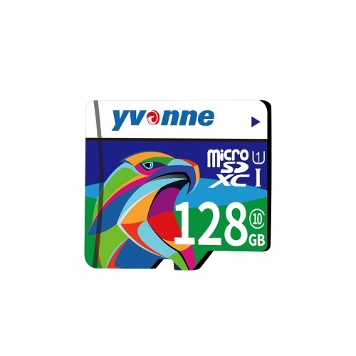 yvonne Micro SDHC TF Flash Memory Card Data Storage 128GB Fast Speed