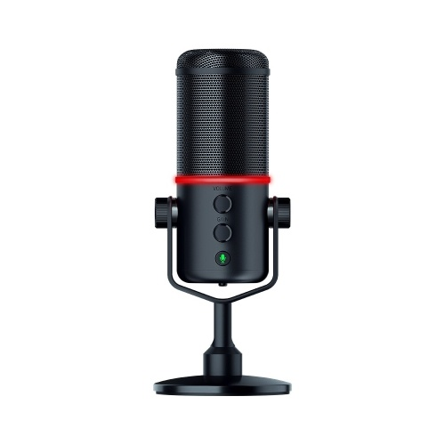 Razer Seiren Elite Microfono Single Dynamic Capsule Filtro passa alto integrato Limitatore digitale / analogico Cardioide Pickup Pattern USB Plug and Play con microfono Parabrezza