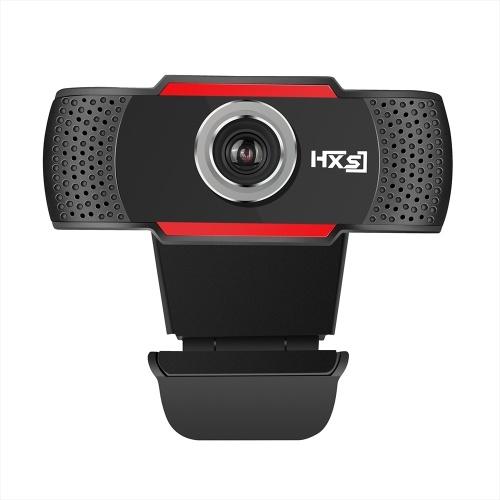 HXSJ S30 720P Webcam Messa a fuoco manuale Videocamera Computer Microfono fonoassorbente incorporato Videocamera Web per PC Laptop
