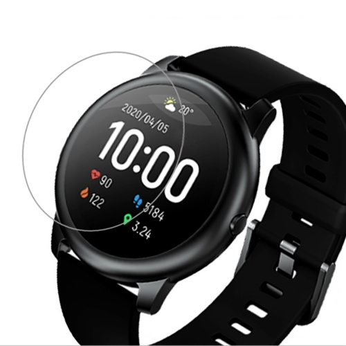 Globale Version Haylou Smart Watch Solar LS05 mit 2-teiliger Displayschutzfolie