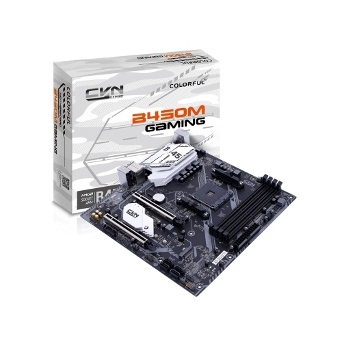 Colorful CVN B450M GAMING V14 Motherboard Gaming Mainboard Support AMD Socket AM4 and Ryzen Series Processors