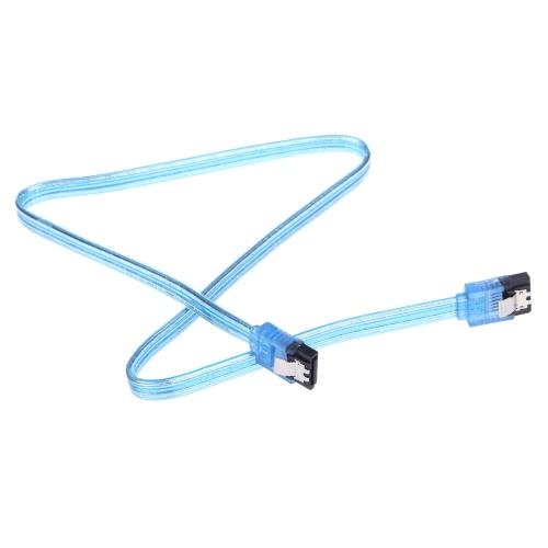 SATA 3.0 High Speed 6 Gbps Prosto do prostych Cord Złącze kabla do transmisji danych z ryglem wtyczką do HDD dysk twardy SSD