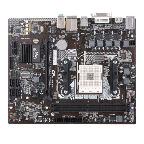 Colorido Batalha AX C.AB350M-HD Plus V14 Motherboard Mainboard Systemboard para AMD B350 / AM4 DDR4 mATX SATA3 USB3.1
