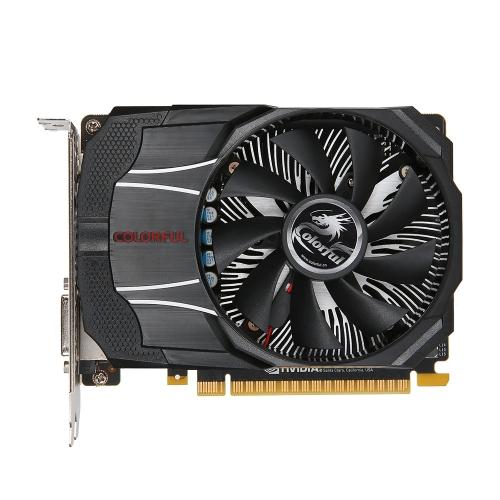 Colorful NVIDIA GeForce GTX1050 Mini OC 2G Graphics Card 1354/1455MHz 7Gbps GDDR5 128bit PCI-E 3.0 with HDMI DP DVI-D Port