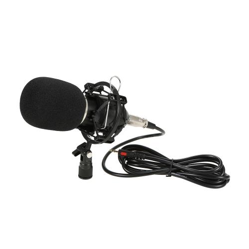Microfone de Condensador de Gravação de Gravação de Estúdio Profissional
