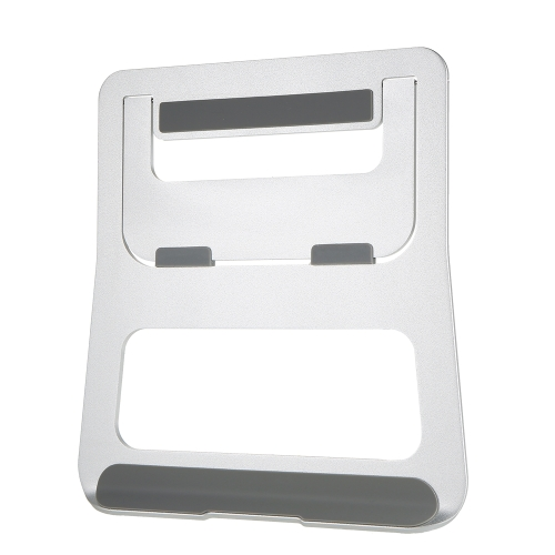 Conception ergonomique En alliage d'aluminium Ordinateur portable Support Bureau Dock Support Support Refroidisseur Refroidissement Pad Pliable pour MacBook Pro / Air / iPad / iPhone / Ordinateur portable / Tablette / PC / Smartphone