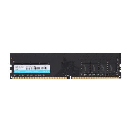 Netac DDR4メモリ4GB 2400MHz MT / s 1.2V PC4-19200デスクトップ用UDIMM 288ピン