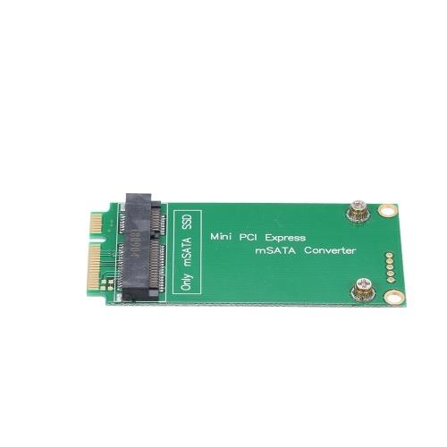 Mini PCI-E Express Adapter Card mSATA Converter for ASUS Riser Card for SSD