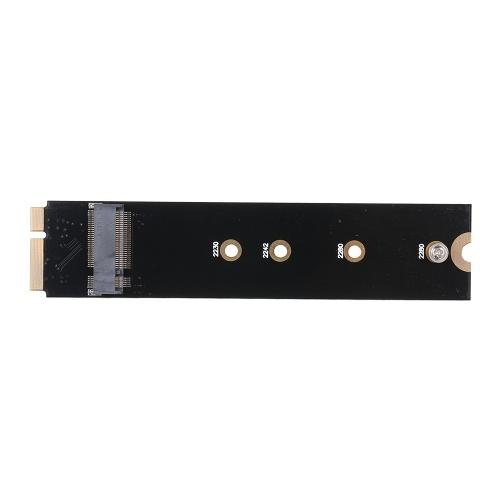 M.2 Scheda adattatore SATA NGFF per Alpple A1465 A1466 MD223 SSD Supporto scheda disco sostitutivo per disco rigido 2230/2242/2260/2280
