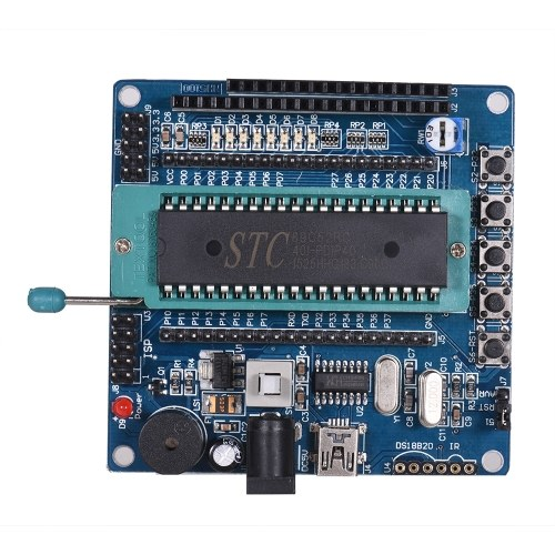 Placa de desenvolvimento NH5100 51 Placa de desenvolvimento de placa de desenvolvimento de chip único com cabo USB