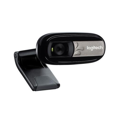 Logitech C170 HD 5-мегапиксельная видеокамера Веб-камера Компьютер Портативный компьютер Камера для видеозвонков и записи Plug & Play