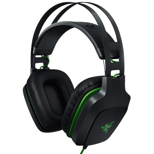 Razer Electra V2 USB Gaming Headset PC Headphone Earphone Virtual 7.1 Surround Sound Auto Adjusting Headband Detachable Boom Mic 40mm Audio Drivers