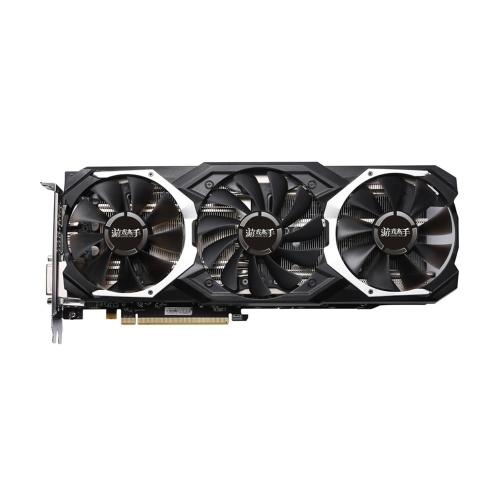 Yale RX580-8G D5 Jogo ACE PA Placas Gráficas Radeon Chill Polaris 20 GPU Sistema de Arrefecimento GLACIER 8GB de Memória GDDR5 256bit DP * 3 / HDMI / DL-DVI-D