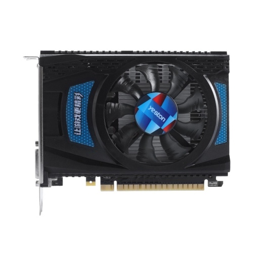 Yeston RX550-2G D5 TA Graphics Cards Radeon Chill 2GB Memory GDDR5 128Bit 6000MHz DP+HDMI+DVI-D Small Size GPU