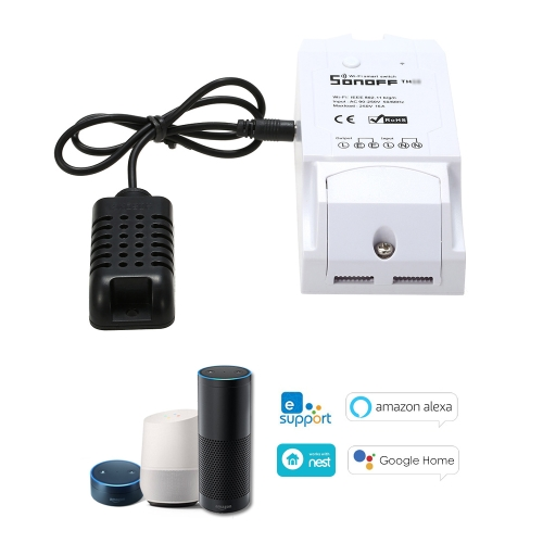 SONOFF TH16 Smart Wifi Switch Monitoramento Temperatura Umidade