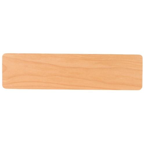 SAMDI Teclado de madeira Suporte de pulso Suporte de palma Suporte de pulso Pad Almofada ergonômica de apoio de pulso