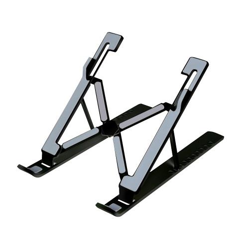 Tragbarer Laptop-Ständer Tischplatte Faltbar 10 Stufen Verstellbarer Laptop-Riser Belüfteter Kühl-Laptop-Ständer