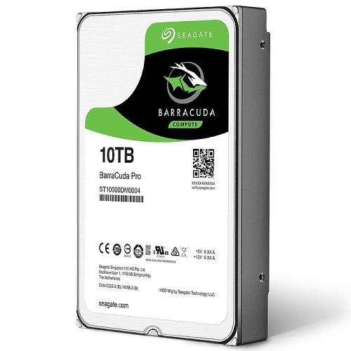 Seagate BarraCuda Serie ST4000DM004 Disco rigido meccanico da 3,5 pollici HDD interno SATA 5400 RPM 256 MB di cache per PC / Mac