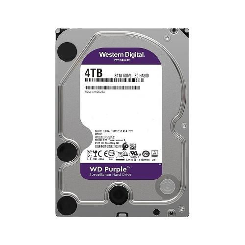 WD Purple 4TB/6TB Surveillance HDD 3.5 inch 5400RPM 64MB Cache SATA Mechanical Hard Disk WD40EJRX for 24*7 Video Recording