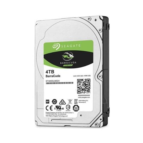Seagate BarraCuda Serie ST4000LM024 2,5 Zoll mechanische Festplatte SATA Interne Festplatte 4 TB 5400 U / min 128 MB Cache für Laptop
