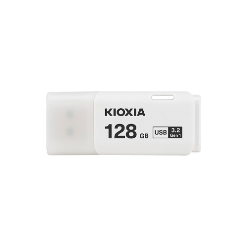 KIOXIA U301 32GB /64GB/128GB USB Flash Drive USB3.2 Interface High Speed Portable Mini U Disk Office for PC/Laptop White
