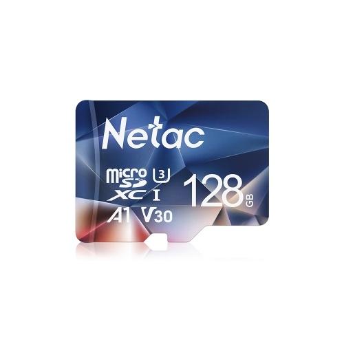 Netac P500 128 ГБ TF карта Micro SD карта U3 V30 100 МБ / с. Высокоскоростная карта памяти камера видеорегистратор мониторы Micro SD карта
