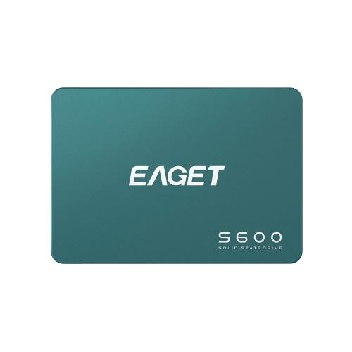 EAGET S600 SSD 2,5-дюймовый SATA 3,0 128 ГБ твердотельный накопитель высокоскоростной чтение и запись SSD для портативных настольных компьютеров