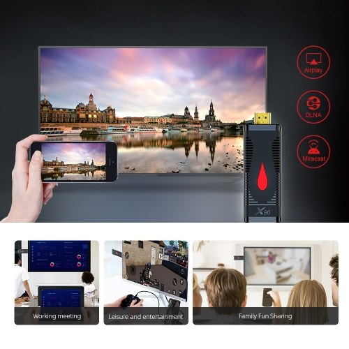 X96 S400 TV Stick 4k Smart TV Box Dongle 2.4G Wifi Mini TV Stick Android 10 TV Dongle 2G-16G