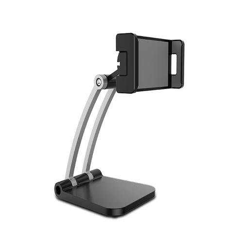 Supporto per tablet desktop Supporto per telefono regolabile girevole a 360 gradi Supporto per streaming live per telefono / tablet da 4 pollici a 13 pollici
