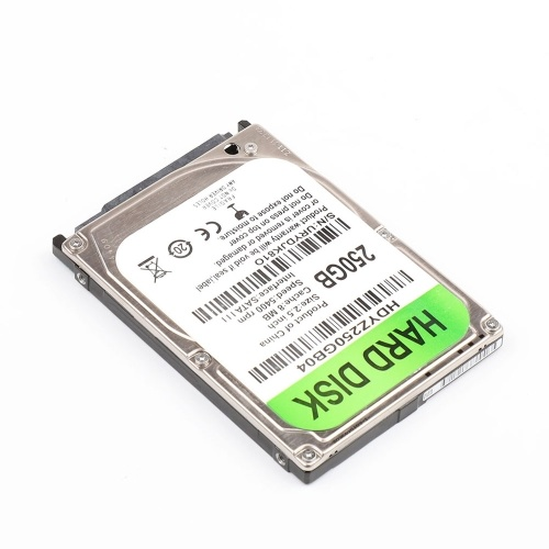 2.5 inch Mechanical Hard Disk SATA III Interface Laptop HDD 250GB 8MB Cache 5400rpm Speed Hard Drive for Laptop
