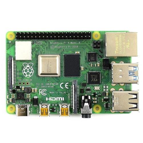 Материнская плата расширения Raspberry Pi 4 Model B для разработки с BCM2711B0 SOC ARM Cortex-A72 Четырехъядерный процессор 4 ГБ памяти