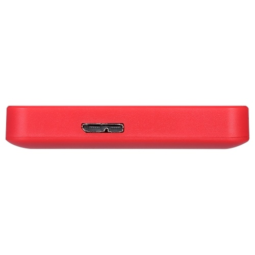 2.5inch Portable External Hard Drive USB 3.0 HDD High Transmitting speed/ Plug and Play/ for PC/Laptop/Desktop Red 500GB