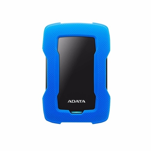 ADATA HD330 Portable External Hard Disk Shockproof Mobile Hard Disk with Shockproof Silicone 256-bit AES Encryption Black 1TB