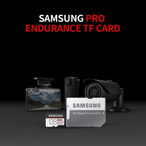 SAMSUNG PRO Endurance 64GB TF Card High Speed Micro SD Memory Card Support 4K for Dash Cam Home Surveillance System