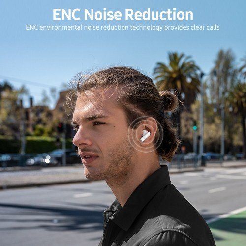NOKIA E3102 Wireless BT Headphones In-ear Sports Music Earbuds ENC Environmental Noise Cancellation Smart Touch Control Black
