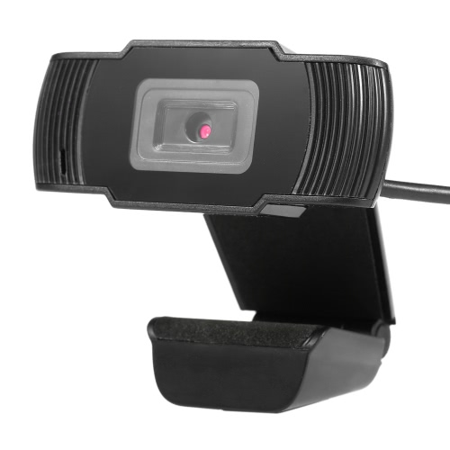 USB2.0 Clip-on Webcam Web Camera HD 12 Megapixels Camera with MIC for Computer PC Laptop