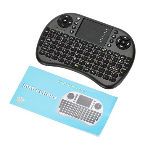 2.4g mini usb wireless russian version keyboard for android windows tv box phone