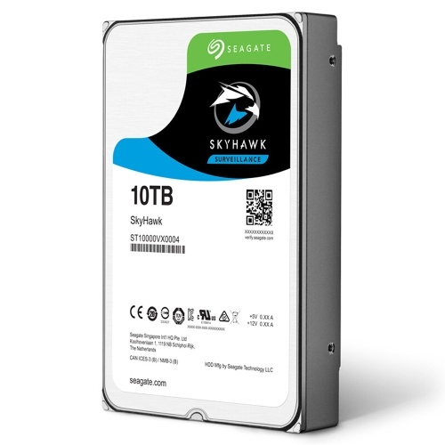 Seagate 10TB Video Surveillance HDD Internal Hard Disk Drive 7200RPM SATA 6Gb/s 3.5-inch 256MB Cache ST10000VX0004
