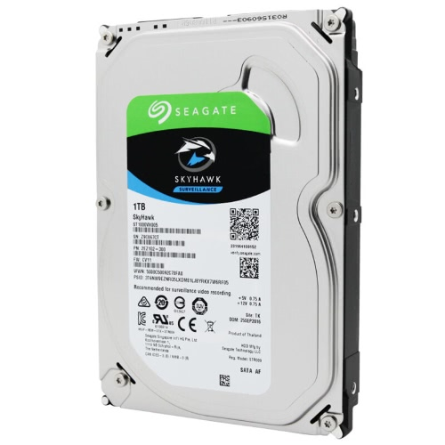 Seagate 1TB Video Surveillance HDD Internal Hard Disk Drive 7200 RPM SATA 6Gb/s 3.5-inch 64MB Cache ST1000VX000