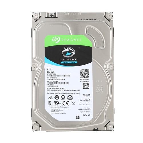 シーゲイト 2 TB ビデオ監視 HDD 内蔵ハード ディスク ドライブ 7200 RPM の SATA 6gb/秒 3.5 インチ 64 MB キャッシュ ST2000VX000