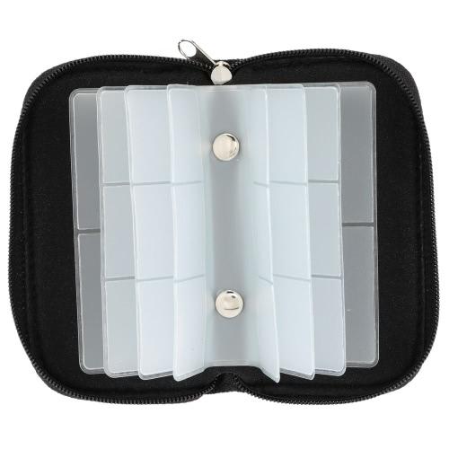 Custodia universale di memoria della carta di memoria che porta il raccoglitore del contenitore del sacchetto della cassa del sacchetto