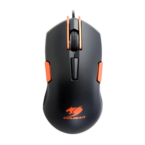 Cougar 250M 4000dpi / CPI Professional Esport Gaming 6D botões programáveis ​​Mouse / Mice LED Wired USB